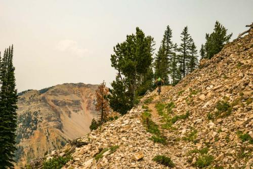 CDT Targee Pass North