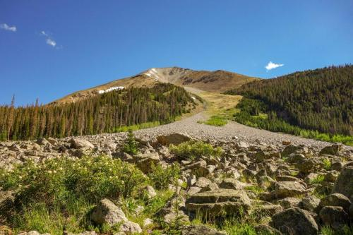 Chaulk Creek Pass