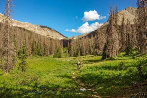 Chaulk Creek Pass