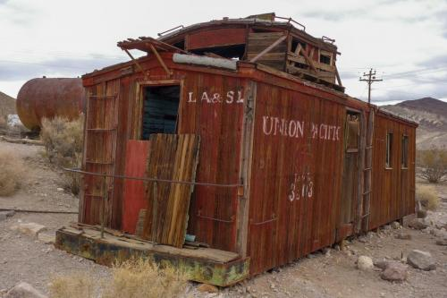 Rhyolite Train car