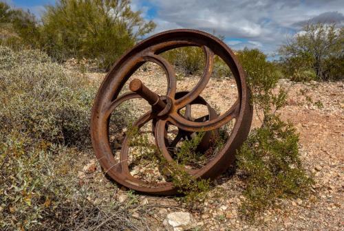 Victoria Mine trail 9