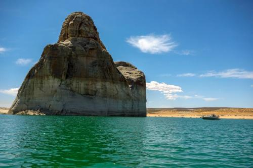 Lake Powell Lone Rock