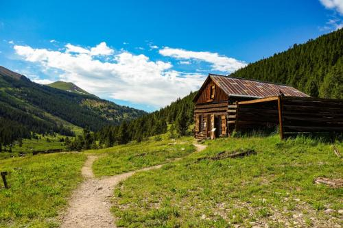 Independence pass and ghost town