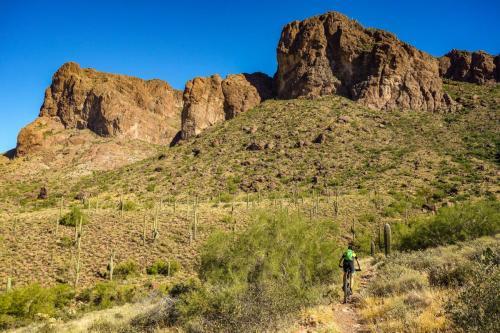 Jacobs Cross trail