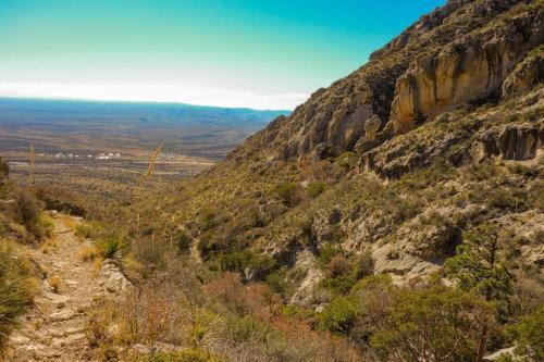 Tejas Trail to Bowl