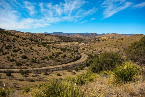 Davis Mountain SP bike ride
