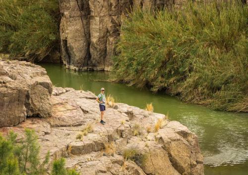Hot Springs Hike BBNP